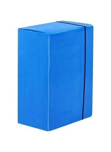 Alemdar Alemdar Arşiv Kutusu 40Cm*30Cm*9Cm Mavi Renkli
